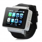I5 GSM Wrist Watch Phone w/1.8-inch Resistive Screen, Quad Band, Single SIM And FM - Black