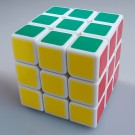 New Shengshou Aurora 3X3X3 Magic Cube White