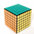 Shengshou 7x7 7.7cm Speed Cube Black Magic Puzzle