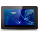 JXD P300 MTK6577 Dual Core Tablet PC 7-inch Android 4.0 3G GPS Bluetooth 4 GB Monster Phone Dual Camera Black
