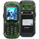 Cubot DT99 2.2-inch TFT Screen 240x320 Single Core MTK6225 104MHz Waterproof Mobile Phone with Bluetooth, Walkie Talkie (1.3M) (Black & Green)