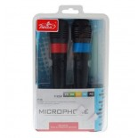 5-In-1 Universal USB Karaoke Microphone Set For Wii/PS3/PS2/Xbox 360/PC (2-Pack)