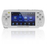 JXD S601 4.3 inch Touch Screen Android 2.3 Digital Handheld Game Console White (4GB)