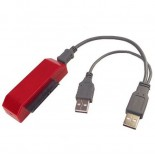 USB Hard Drive HDD Data Transfer Cable Kit for XBOX 360 Slim - Red