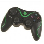 Bluetooth Wireless Controller for PS3 - Black & Green