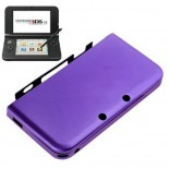 Aluminum Box Hard Metal Cover Case for Nintendo 3DS LL/XL (Purple)