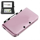 Aluminum Box Hard Metal Cover Case for Nintendo 3DS LL/XL (Pink)