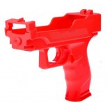 Wii Light Gun Accessory For Wii Shooting Games - Red