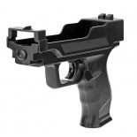 Wii Light Gun Accessory For Wii Shooting Games - Black