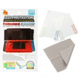 Professional Anti-Glare LCD Screen Protector for Nintendo 3DS - 6-Layers with Cleaning Cloth