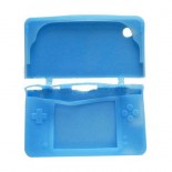 Protective Silicone Case for DSi XL/LL Light Blue without Packing