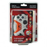 Colorful Wireless Bluetooth Game Controller Gamepad for PS3 White + Orange