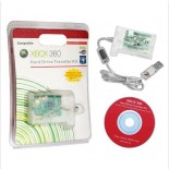 Hard Drive Transfer Kit with Bright SMD LED for Xbox360 - Transparent White