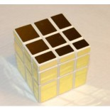 GhostHand (GS) Golden Mirror 3X3 Speed Cube White