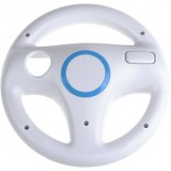 Steering Wheel For Wii MARIO KART Racing Games -White