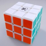 Dayan 5 ZhanChi 3x3x3 Speed Cube White