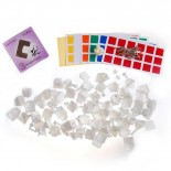Dayan V Zhanchi Cube DIY Kit White