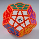 DaYan Megaminx I Orange With Corner Ridges