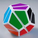 LanLan 2x2 Dodecahedron Magic Cube White