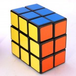 Lanlan 2X3X3 Speed Cube Puzzle Black