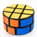 LanLan 2x3x3 Pie-shape Round Column Speed Cube Black