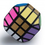 LanLan 4x4 Dodecahedron Magic Cube Black