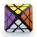 Lanlan 4-Layer Octahedron Speed Cube Black