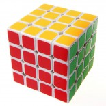 MF8+Dayan 4X4 Speed Magic Cube 6.2cm White