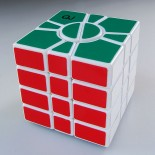 QJ Super Square One Puzzle Cube White
