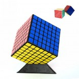 Shengshou Mini 7x7 Shengshou linglong7x7x7 Magic Cube Black