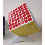 Shengshou Mini 7x7 Shengshou linglong7x7x7 Magic Cube White