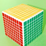 Shengshou 9X9X9 Magic Cube White