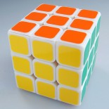 Type C V 3x3x3   Magic Cube White