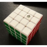 Type C WitFour 4x4x4 62mm Magic Cube White