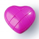 YJ 3x3 Heart Cube Pink