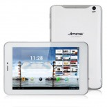 Ampe A79 Quad Core 3G GPS Tablet PC 7-inch MSM8625Q Android 4.1 IPS Screen 4 GB Bluetooth White