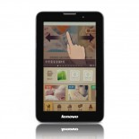 Lenovo A3000 Android 4.2 MTK8389 Quad Core Bluetooth GPS Dual Camera 1 GB/4 GB 7-inch IPS 3G Phone Tablet PC (Black)