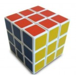 QJ 3x3 Magic Cube(4.8CM) White
