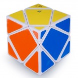 Lanlan 4-Axis Skewb Big Stone Speed Cube Magic Cube White