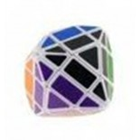 LanLan 4-Layer Rhombic Dodecahedron Magic Cube Puzzle Game - White Line