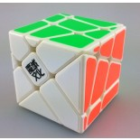 YJ MoYu Crazy YiLeng Fisher Speed Cube White