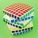 Lanlan 7x7x7 Magic Cube White