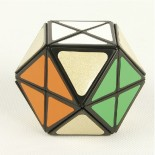 LanLan 12-Axis 14-Faceted Magic Cube Black