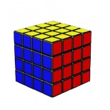 YJ MoYu 4x4  Yongjun MoYu Shensu 4x4 Magic Cube Black