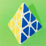 QJ  High Quality Pyraminx Magic Cube White
