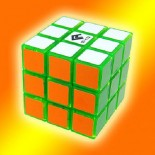 Cube4U (C4U) 3X3 Speed Cube transparent Yellow