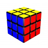 YJ Yongjun Mini Aolong 54.5mm 3x3x3 Magic Cube Black