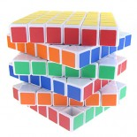 YJ-6x6x6 Magic Cube White